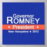Poster 2012 de Romney NH