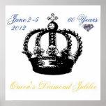 Poster 2012 del jubileo de diamante del Queens