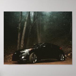 Poster 2013 de Hyundai Veloster Turbo Póster