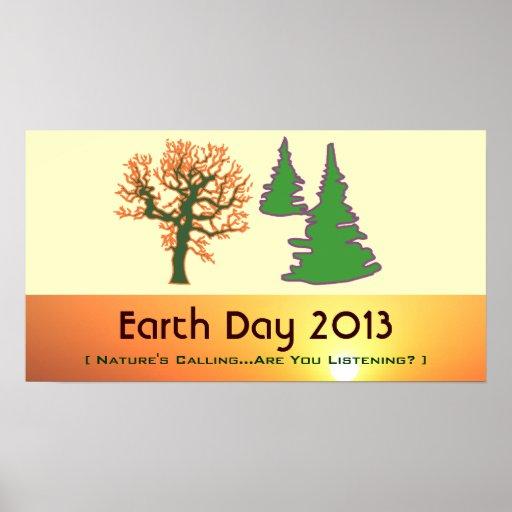 Poster 2013 del Día de la Tierra