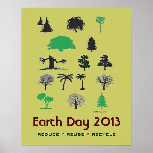 Poster 2013 del Día de la Tierra de la MOD