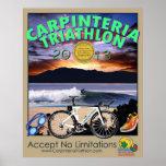 Poster 2013 del Triathlon de Carpinteria