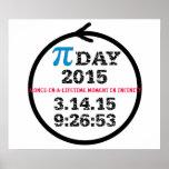 Poster 2015 del día del pi: ¡Celebre el infinito!