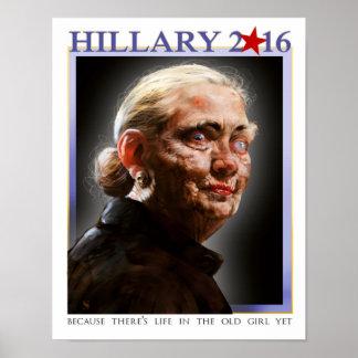 Poster 2016 de Hillary
