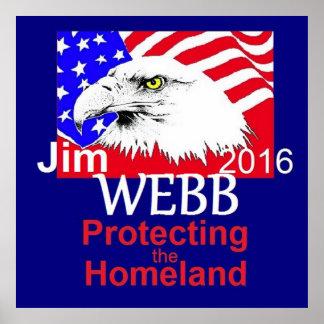 Poster 2016 de WEBB de Jim