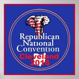Poster 2016 del convenio del republicano