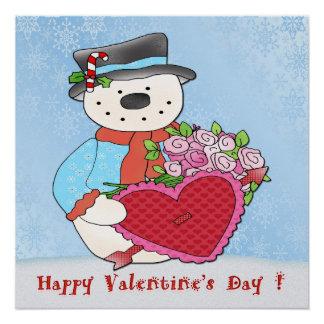 """Poster 20"""" del el día de San Valentín del muñeco Perfect Poster"""