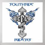 "Poster 23"" de los jinetes de Southside x23 """