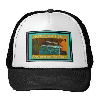 Poster 25 del viaje del vintage gorras de camionero