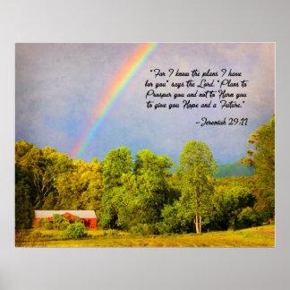 Poster - 29:11 de Jeremiah… para mí sé los planes…