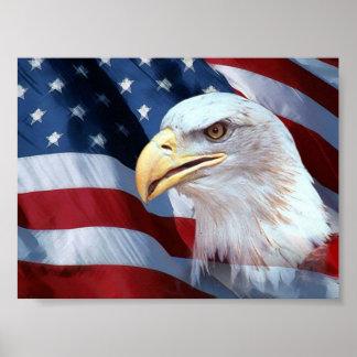 Poster 2 de la bandera americana