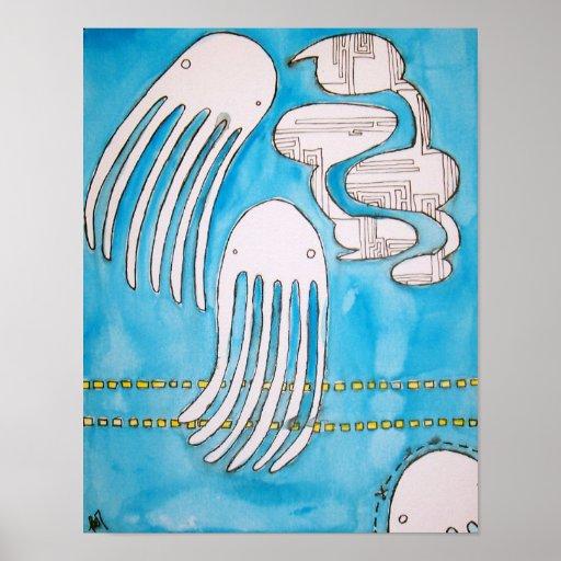 Poster 2 de la charla del calamar
