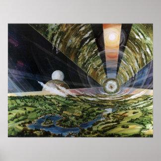 Poster #2 de la colonia del espacio