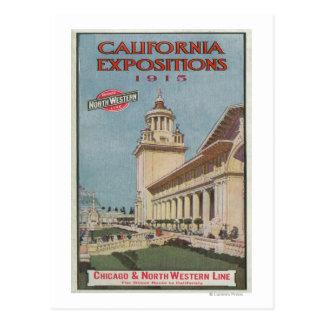 Poster #2 de las exposiciones de California Postales