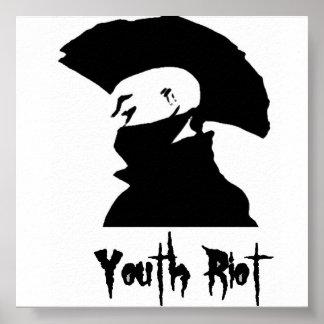 Poster 2 del alboroto de la juventud