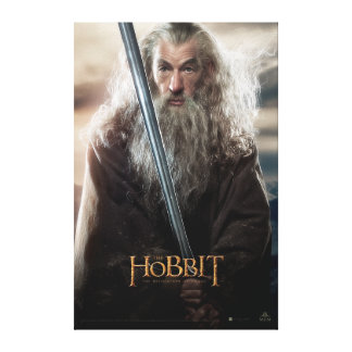 Poster 2 del carácter de Gandalf Impresiones De Lienzo