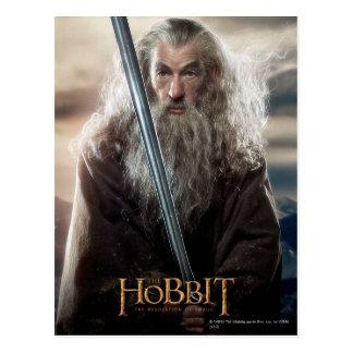 Poster 2 del carácter de Gandalf Tarjetas Postales