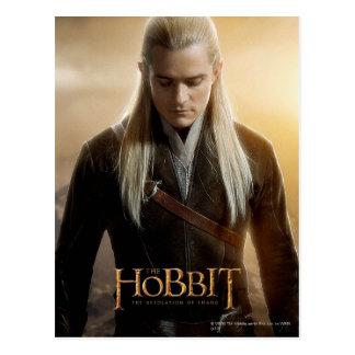 Poster 2 del carácter de Legolas Postal