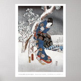 Poster 2 del geisha de la nieve