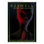 Poster 2 del viaje de Roswell Tarjetón