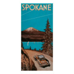 Poster #2Spokane, WA de la publicidad de Spokane Póster