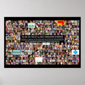 """poster 36"""" del día de la conciencia 2014 4p-/WHS x Póster"""