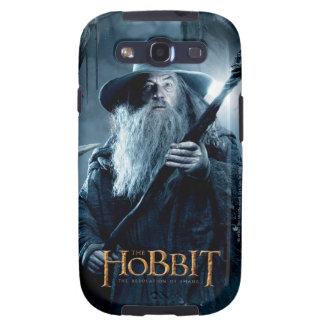 Poster 3 del carácter de Gandalf Galaxy SIII Cobertura