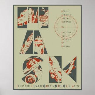 Poster 3 del concierto de la máscara