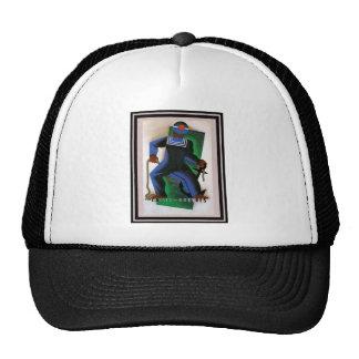 Poster 41 del viaje del vintage gorras de camionero