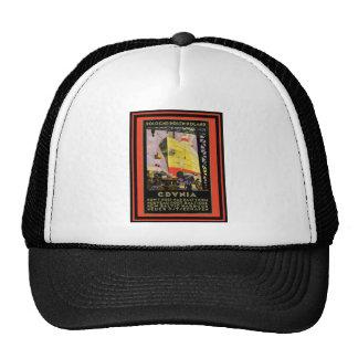 Poster 56 del viaje del vintage gorras