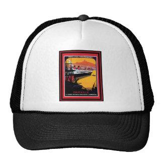 Poster 59 del viaje del vintage gorras