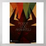Poster 5 de Akamatsu de dios del robot
