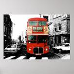 Poster 5 del autobús de Londres