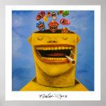 Poster 60,96x60,96cm: Felicidade by Flavio Rossi
