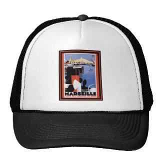 Poster 60 del viaje del vintage gorras