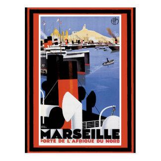 Poster 60 del viaje del vintage tarjeta postal