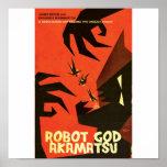 Poster 6 de Akamatsu de dios del robot