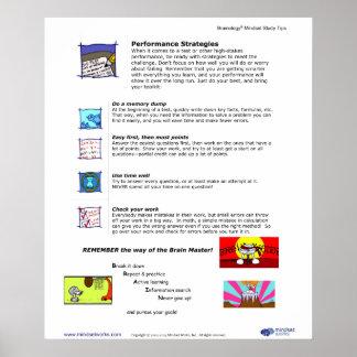 Poster 8 de Brainology®: Estrategias del funcionam