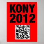 Poster 8x11 de Kony 2012