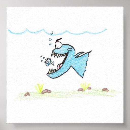 Poster a pescado de los pescados