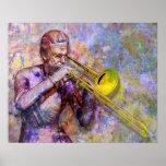 Poster a solas del Trombone
