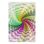 Poster: Abstract / Psychedelic Spiral Poster