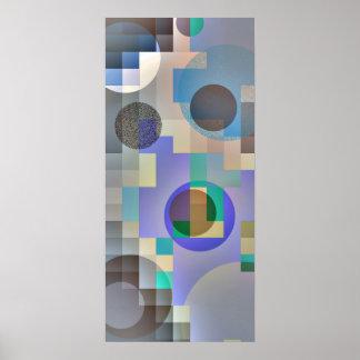 Poster abstracto de la VERSIÓN PARCIAL DE PROGRAMA