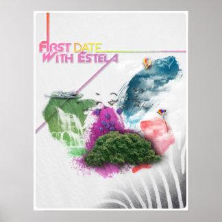 Poster abstracto del diseño