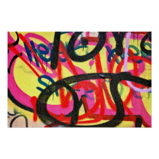 poster abstracto del fondo de la pintada