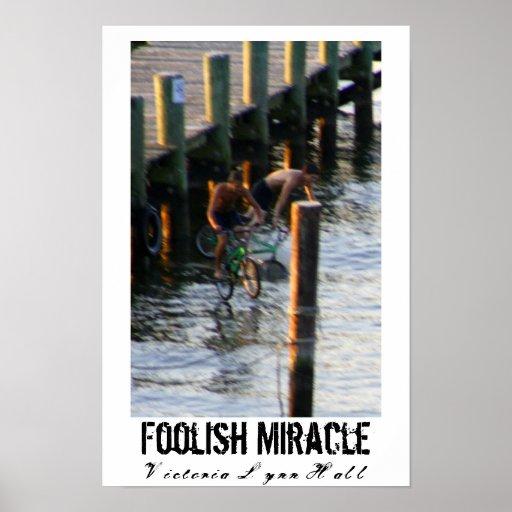 Poster absurdo de la fotografía del milagro