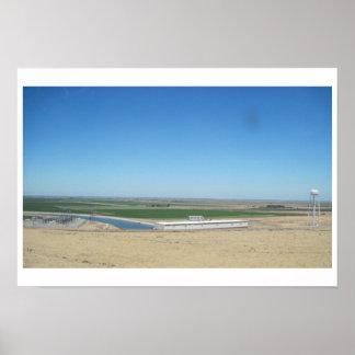 Poster: Acueducto de California según lo visto de