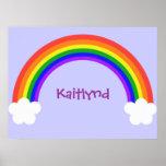 Poster adaptable del arco iris