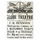 Poster advertising 'A Midsummer Night's Dream' Card