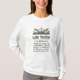 Poster advertising 'A Midsummer Night's Dream' T-Shirt